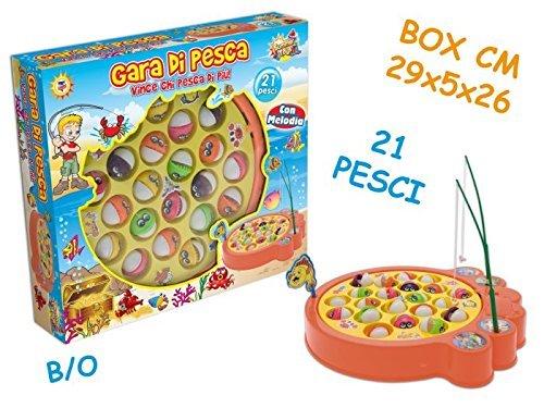 GIOCO PESCA C/21 PESCI B/O 63030
