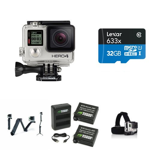 GoPro HERO4 SILVER Extreme Bundle