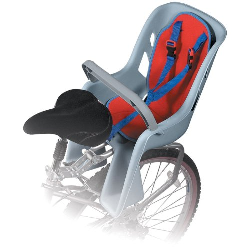 New Bicycle Bike Back Classic Baby Child Carrier 40 Lbs Capacity Comfy Pad Seat