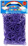 Colorful Loom Bands 600 PURPLE Rubber…