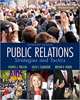 Public Relations: Strategies And Tactics (11th Edition)