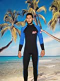 Unisex 5mm Rear Zipper Wet Suit Size 4XL, Surf, Scuba, Dive, Gold Dredge 4803