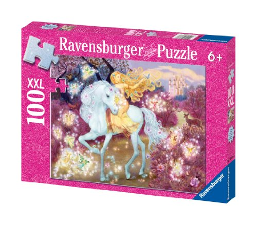 Ravensburger Riding in the Woods - 100 Piece Glitter Puzzle