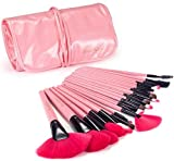 24pcs Professional Wool Cosmetic Makeup Brush Set Kit Brushes&tools Make Up Case