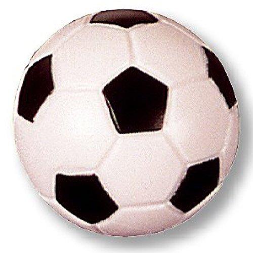 Tischfussball Kicker Kickerbäll Ball für Kickertisch Anfänger Turnier Profi (schwarz/weiß klein)