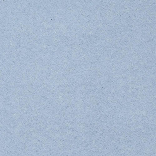 Baby Blue Anti Pill Solid Fleece Fabric, 60