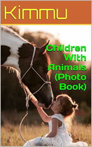 children-with-animals-photo-book-english-edition