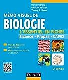 Mémo visuel de biologie - 2e édition: L'essentiel en fiches