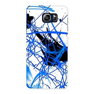Blue Splasher Back Case Cover for Galaxy Note 5