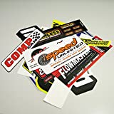 Speed 6000 Auto Drag Racing Decal Sticker Pack 13