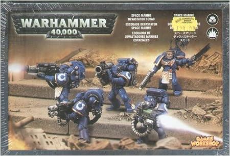 Games Workshop - 99120101053 - Warhammer 40.000 - Figurine - Escouade Devastator Space Marine