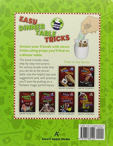 Easy Dinner Table Tricks (Beginner Magic)