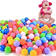 toyofmine 200pcs Colorful Ball Ocean…