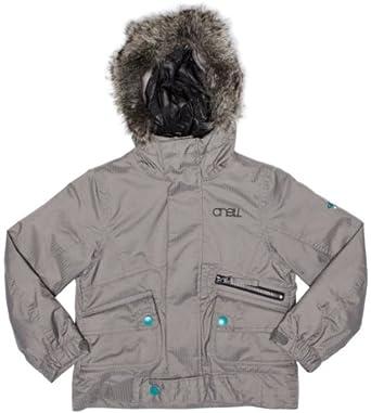 O'Neill Gemstone Girls Jacket Charcoal Grey 6 years