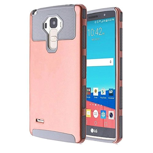Fantastic Deal! LG G Stylo Case, LG G4 Stylus Case, Deego 2in1 Design Hybrid Heavy Duty Impact Resis...
