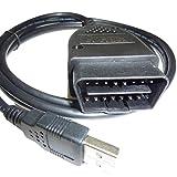 VW Audi を制御 OBD2 USB 汎用 ケーブル VAG 12.12 最新バージョン VCDS 互換