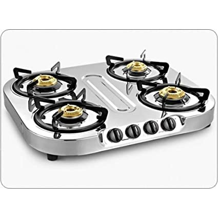 Optra Staineless Steel Gas Cooktop (4 Burner)