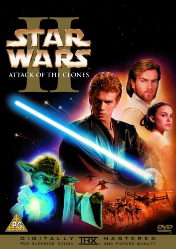 Star Wars: Episode II - Attack of the Clones (1 Disc) [DVD]