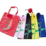 Eco Shopping Bag - 5 Foldable Rose Set