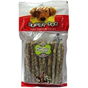 Super Dog Munchy Sticks Natural 25 Pieces (Pack Of 2)