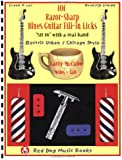 101 Razor-Sharp Blues Guitar Fill-In Licks (Book and CD) (Red Dog Music Books Razor-Sharp Blues Guitar Series)