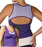 Keyhole Sports Dance Fitness Workout Bra Tank Top
