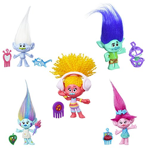 DreamWorks-Trolls-Small-Troll-Town-5-Pack-Collectible-Figures