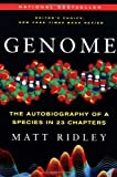 Genome: The Autobiography of a Species in 23 Chapters (0060932902) by Matt Ridley