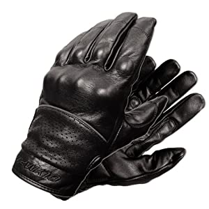Olympia 450 Full Throttle Classic Motorcycle Gloves (Black, X-Large) from Olympia