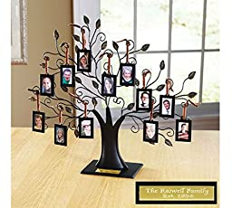 Personalized Oversized Metal Family Tree Sculpture MOST WATCHED