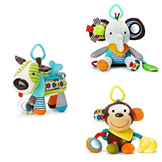 Skip Hop Bandana Buddies Toy Set