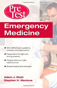 "Cover of ""Emergency Medicine PreTest Self..."