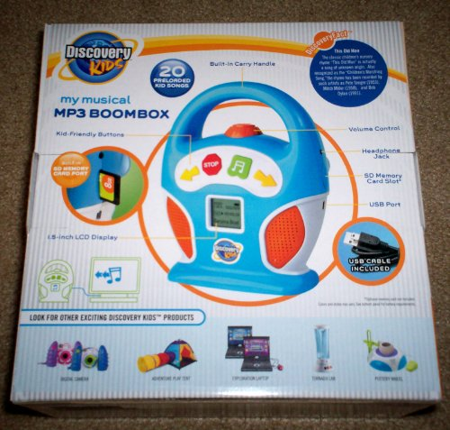 Discovery Kids MP3 Boom Box