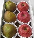 山形県産 ラフランス&サンふじりんごセット 2kg ランキングお取り寄せ