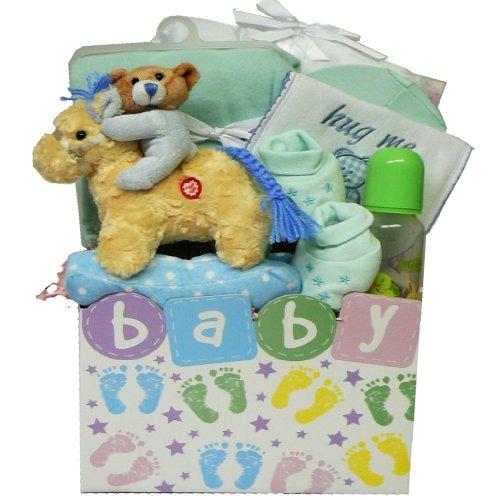 Art of Appreciation Gift Baskets Twinkle Twinkle Baby Gift Box for Boy