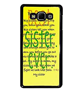 PrintDhaba Quote D-3923 Back Case Cover for SAMSUNG GALAXY E7 (Multi-Coloured)