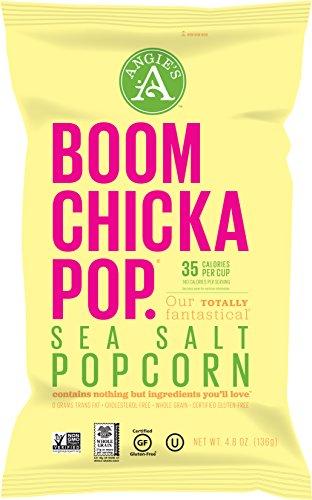 Angie's Popcorn Boomchickapop Sea Salt Popcorn, 5 Ounce (Pack of 8) (Angies Popcorn Seasalt compare prices)