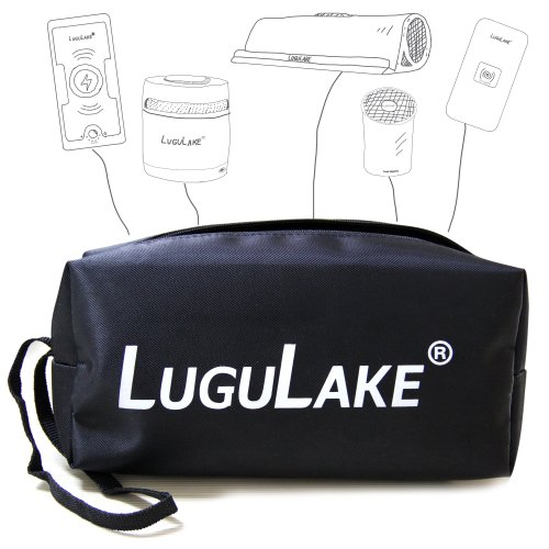 Lugulake Portable Protection Bag Carry Bag For Bluetooth Speaker, Qi Wireless Charger, Power Bank, Smartphone