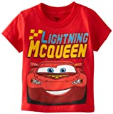 Disney Little Boys' Cars Lightning McQueen Toddler T-Shirt