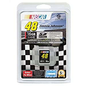 Centon 16GBSDHC6-JJ09 16GB Jimmie Johnson SD Card