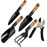 Fiskars Anvil Pruner & FiberComp Garden Tool Set - 5 Piece