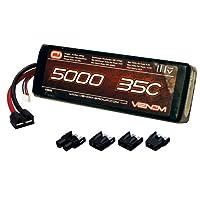 Venom 35C 3S 5000mAh 11.1 LiPO Battery with Universal Plug System by Venom