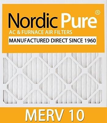 Nordic Pure 16x25x5ABM10-1 Merv 10 Air Bear Replacement