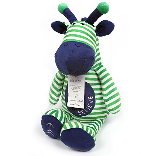 Bella Tunno Poetic Plush Animal, Believe Giraffe