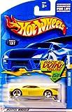 Mattel Hot Wheels 2002 1:64 Scale Yellow Ferrari 348 Die Cast Car #137