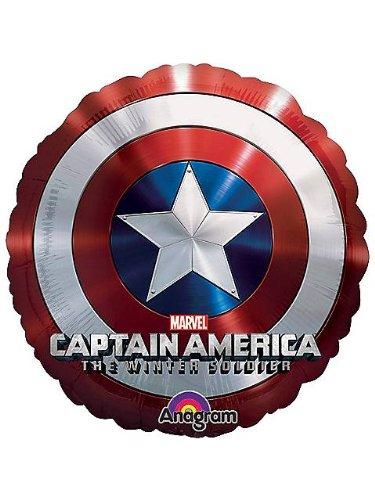 """Captain America 28"""" Shield Balloon (Each) - 1"""