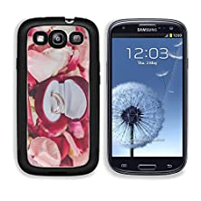 buy Msd Premium Samsung Galaxy S3 Aluminium Backplate Snap Case Image Of Wedding Rings In A Gift Box On Flowers Background Image Id 27077402