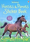 img - for Horses and Ponies Sticker Book (Usborne Sticker Books) book / textbook / text book