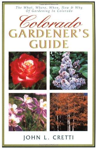 Colorado Gardener'S Guide front-807035