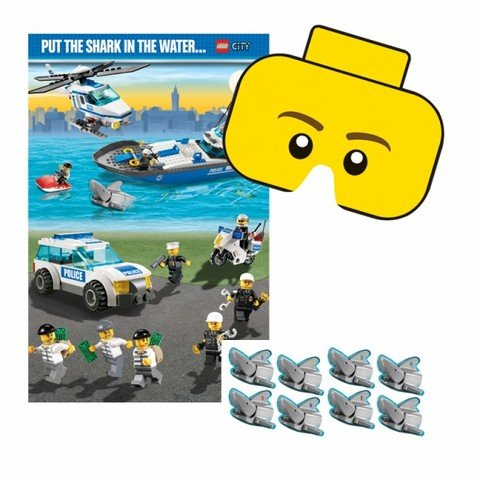 LEGO City Party Game Party Accessory by Amscan - 1